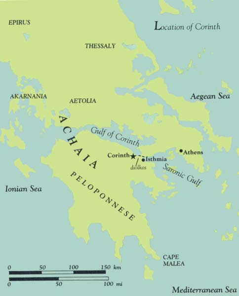 Corinth in Pauls TimeWhat Can Archaeology Tell Us The BAS Library