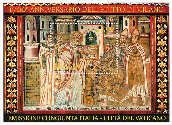 Strata  The 1 700th Anniversary Of The Edict Of Milan