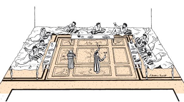 A Roman Triclinium 183 The Bas Library