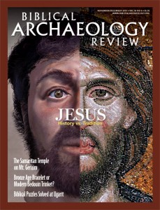 Biblical Archaeology Review, November/December 2010
