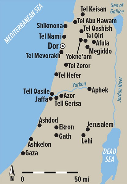 When Canaanites and Philistines Ruled Ashkelon The BAS Library